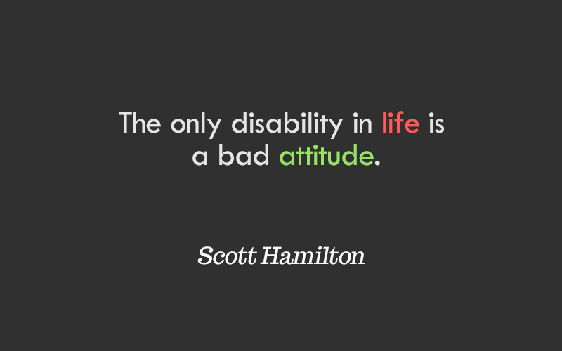 life and attitude