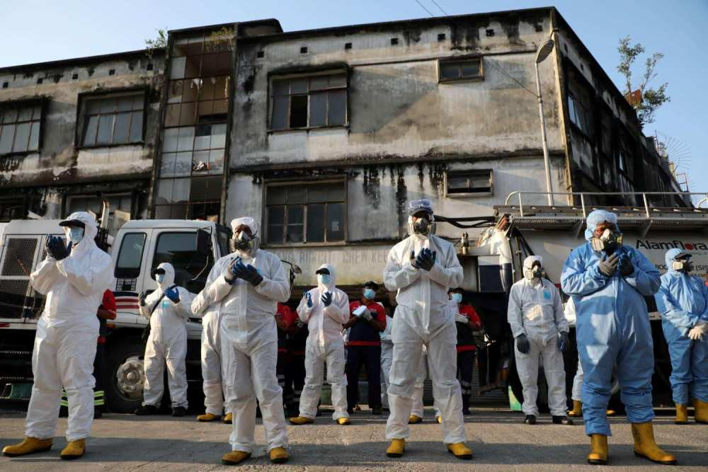 Acknowledging Frontliners during Pandemic Crisis